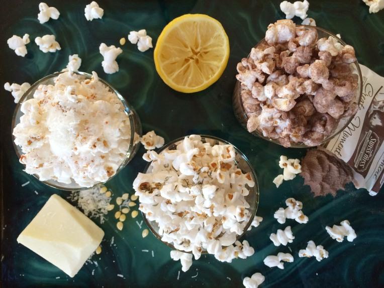 Blanc Popcorn