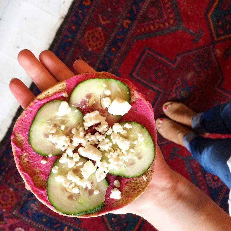 Blanc Hummus Pita